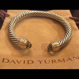 David Yurman 7mm Morganite Bracelet